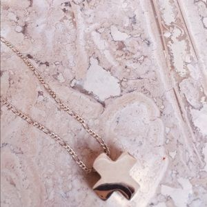 Jewelry - Beautiful S.S., Necklace with Cross Pendant.